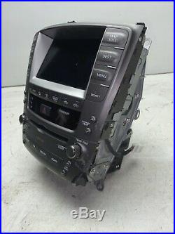 06-08 Lexus IS250 IS350 Radio Navigation Climate Control Display Screen CD X2962