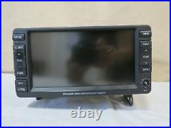 08 09 10 11 Mitsubishi Lancer GPS NAVIGATION Info Audio Display OEM 8750A069