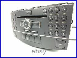 08-11 Mercedes W204 C300 C350 Radio Navigation GPS AM-FM STEREO CD PLAYER