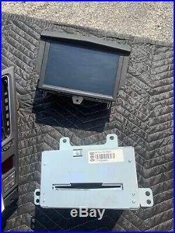 2008-11 Cadillac CTS CD Radio Player Receiver Navigation Screen Control Set