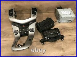 2011 2016 Chevy Cruze Front CD Monitor Radio Player Stereo Climate Control Oem