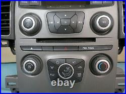 2013 Ford Taurus Radio AUX Player AC Climate Control Panel OEM DG1T-18A802-FD