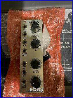 Bubblesound VCWS Voltage Controlled Wave Shaper Eurorack Synth Module
