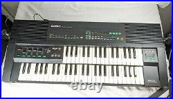 Casio DM-100 Keyboard Electronic Pulse Control Modulation 210 Sound Bank Tested