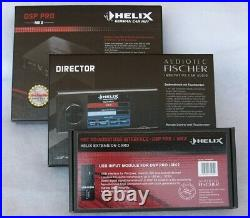 Helix Dsp Pro Mk2 High-end + Director Remote Control + Hec Hd-audio Usb Module