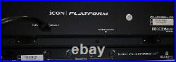 ICON Platform M+ Midi/Audio Mixer Controller with D2 LCD Module in Original Boxes