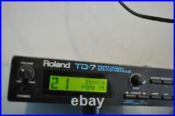 Roland TD7 Percussion Sound Module DRUM CONTROLLER for PD7, KD7