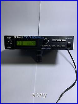 Roland TD7 Percussion Sound Module DRUM CONTROLLER for PD7, KD7 with Power Adapter