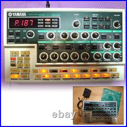 Yamaha DX200 Synthsizer Desktop Control FM Sound Module with Adapter from Japan